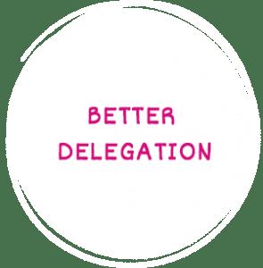 Better Delegation