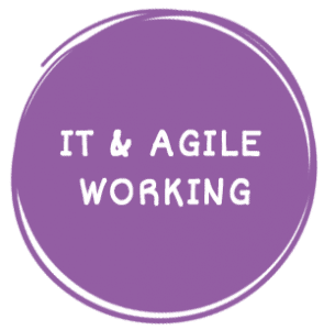 IT and Agile Working-circle