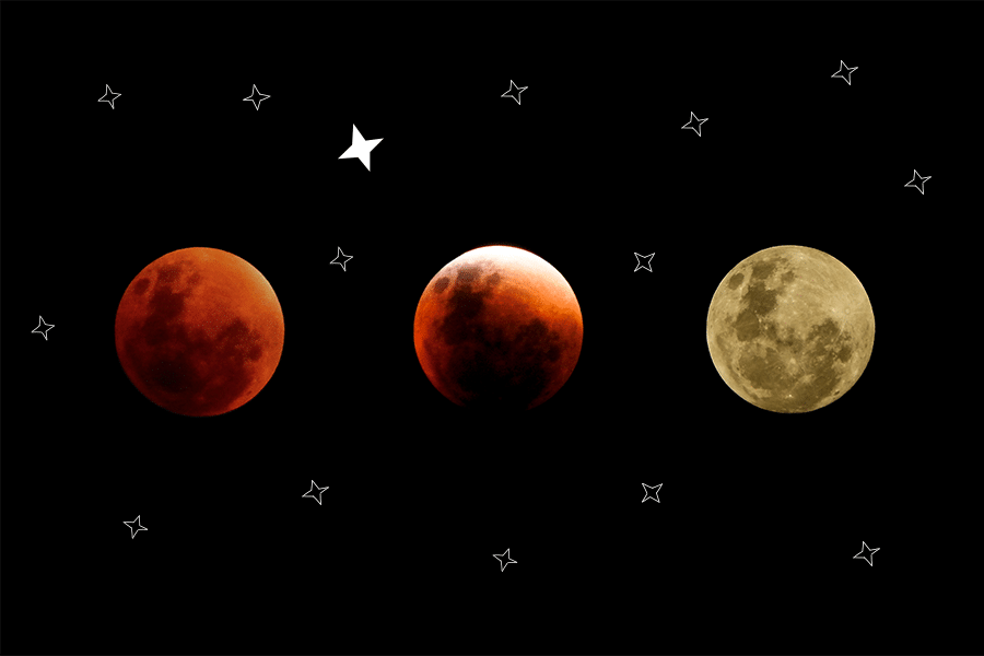 Never mind the Blood Moon did you see the newest STAR® in the sky?
