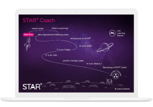 STAR Coach Journey Map on Macbook