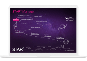 STAR Manager Journey Map on Macbook