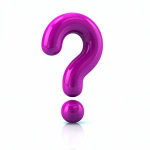 Question Mark Purple