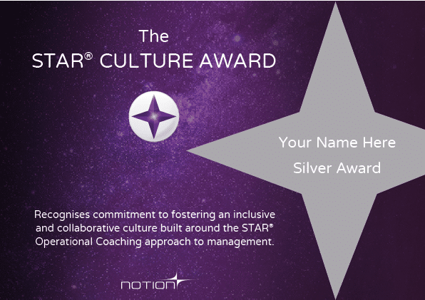 Dummy STAR Culture Award_Silver