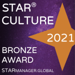 STAR Culture Bronze Award 2021 Badge