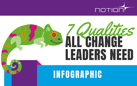 Infographic – 7 Qualities All Change Leaders Need