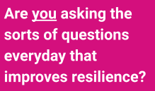 Why Asking Better Questions Improves Resilience